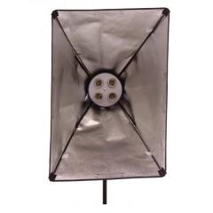 Постоянный свет FST KF-104ll (4*26Вт + софтбокс 50*70) флуоресцентный осветительный прибор