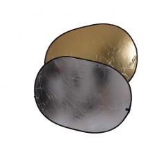 Отражатель 2 в 1 FST RD-021GS 100x150 золото/серебро