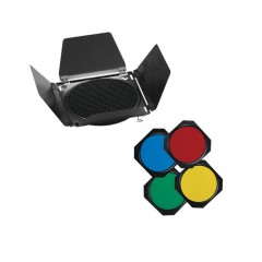 Насадка Visico BD-200 шторки с сотой, цветные фильтры в комплекте