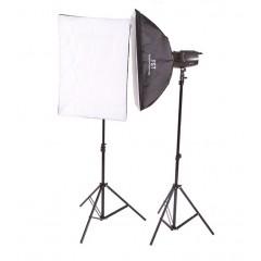 Импульсный свет FST E-250 Softbox KIT