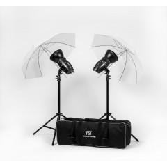 Импульсный свет FST E-180 Umbrella KIT