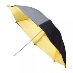 Зонт NiceFoto Золотой на отражение 83 см