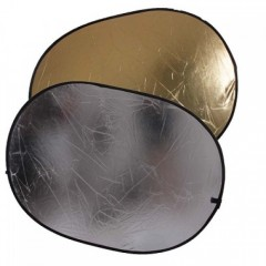 Отражатель 2 в 1 FST RD-021GS 100х150 золото/серебро