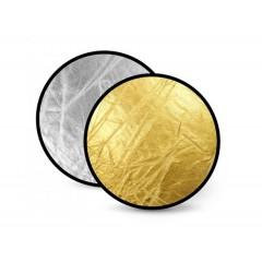 Отражатель 2 в 1 FST RD-021GS 80 золото/серебро