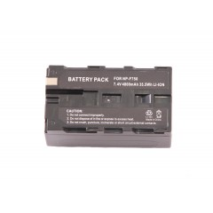 Постоянный свет аккумулятор FST NP-F750 для светодиодного накамерного осветителя