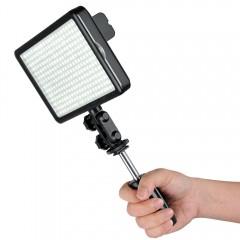 LED-осветитель LED-308C для фотокамеры (308 диодов), дисплей, БЕЗ пульта дист.управления