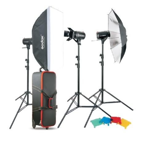 Комплект студийного оборудования Godox E250-D