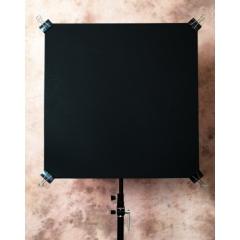 Флаг пластиковый черный 61х61 см