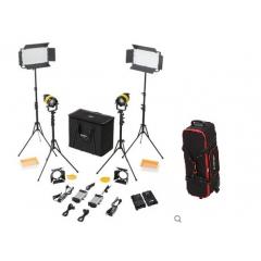 Комплект LED осветителей Starison 2200S + 800A с линзой Френеля