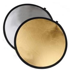 Отражатель NiceFoto SR-2-42 (107cm) золото/серебро