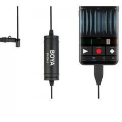 Boya BY-DM2 Петличный микрофон для Android устройств
