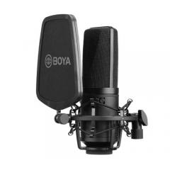 Boya BY-M1000 Студийный микрофон с большой диафрагмой