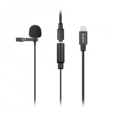 Boya BY-M2 Петличный микрофон с переходником Lightning для устройств Apple
