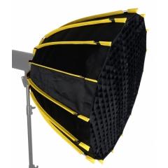 Быстрораскладной параболический софтбокс KU II-16 SW-90 ( 16 спиц 90 см. )