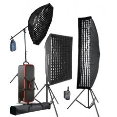 Комплект студийного оборудования Godox QT600II-F