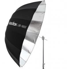 Зонт параболический Godox UB-165S серебро/черный