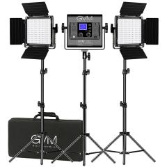 Комплект постоянного света GVM 3-800D-RGB