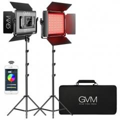 Комплект постоянного света GVM 1000D-2L