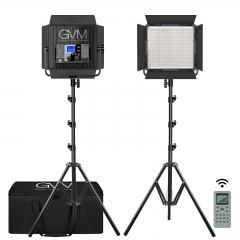 Комплект постоянного света GVM-2896S Bi-Color LED
