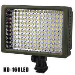 HD-160 накамерный свет (LED 160) для фото и видеокамер (Источник постоянного света)