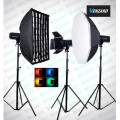 Venzard X1200 комплект студийного света