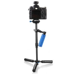 Стедикам DSLR S-43C с ножками для камер весом до 2 кг. (карбон)