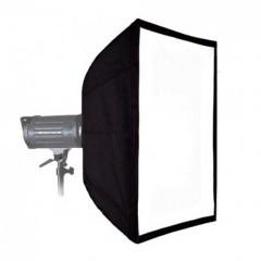 Софтбокс 70 x 90 см с двойным диффузором предназначен для работы с галогенным рефлектором 800 Вт