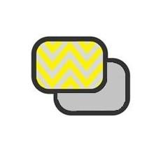 Отражатель Grifon R-1017 2-в-1 золото-серебро в полоску/серебро