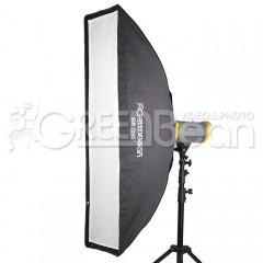 Софтбокс GreenBean GB Gfi 1x4` (30x120 cm)