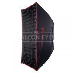 Софтбокс Falcon Eyes SBQ-80100 BW жаропрочный с сотовой насадкой