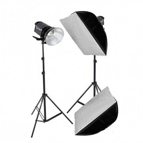 Grifon QL-1000 Heat SS Kit набор галогенных осветителей с софтбоксами