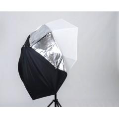 Зонт NiceFoto на отражение и просвет 105 см