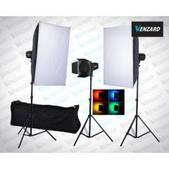 Venzard X750 комплект студийного света