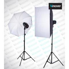 Venzard X300 soft комплект студийного света
