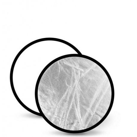 Отражатель NiceFoto SR-2-42 (107cm) серебро/белый отражающий