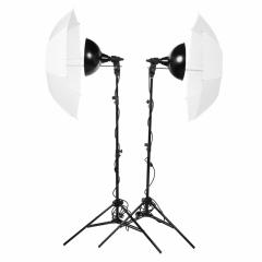 Lumifor MACRO-1000-2UU KIT комплект галогенных осветителей 2х500 Вт