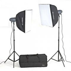Visico VL PLUS 400 Soft Box KIT комплект импульсного света