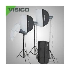 Visico VL PLUS 300 Soft Box/ Umbrella KIT комплект импульсного света