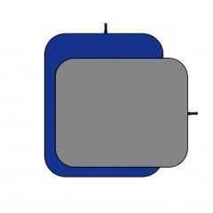 Visico BP-028 фон складной 150х200 см двусторонний серый синий