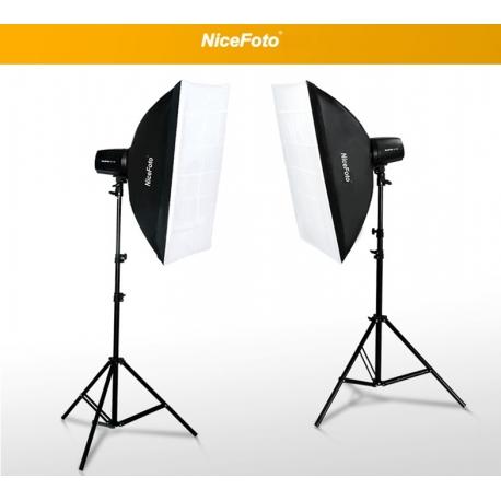 Комплект импульсного света NiceFoto GY-300 Soft