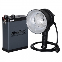 Аккумуляторный импульсный свет NiceFoto PF-400A