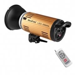 LED светодиодный осветитель NiceFoto FM-LED2000AD (мощность 200 Вт, bowens, 3200K-7500K)