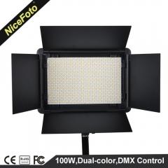 Светодиодный (LED) осветитель NiceFoto LED-1080DMX (мощность 100 Вт)